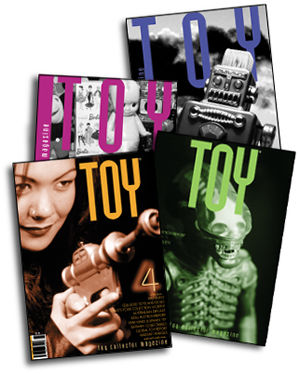 Toyzine and Toy Magazine printed issues